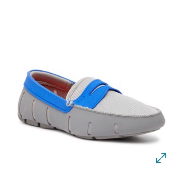 e81c41df629 SWIMS men s penny loafer shoes drivers slip on 8